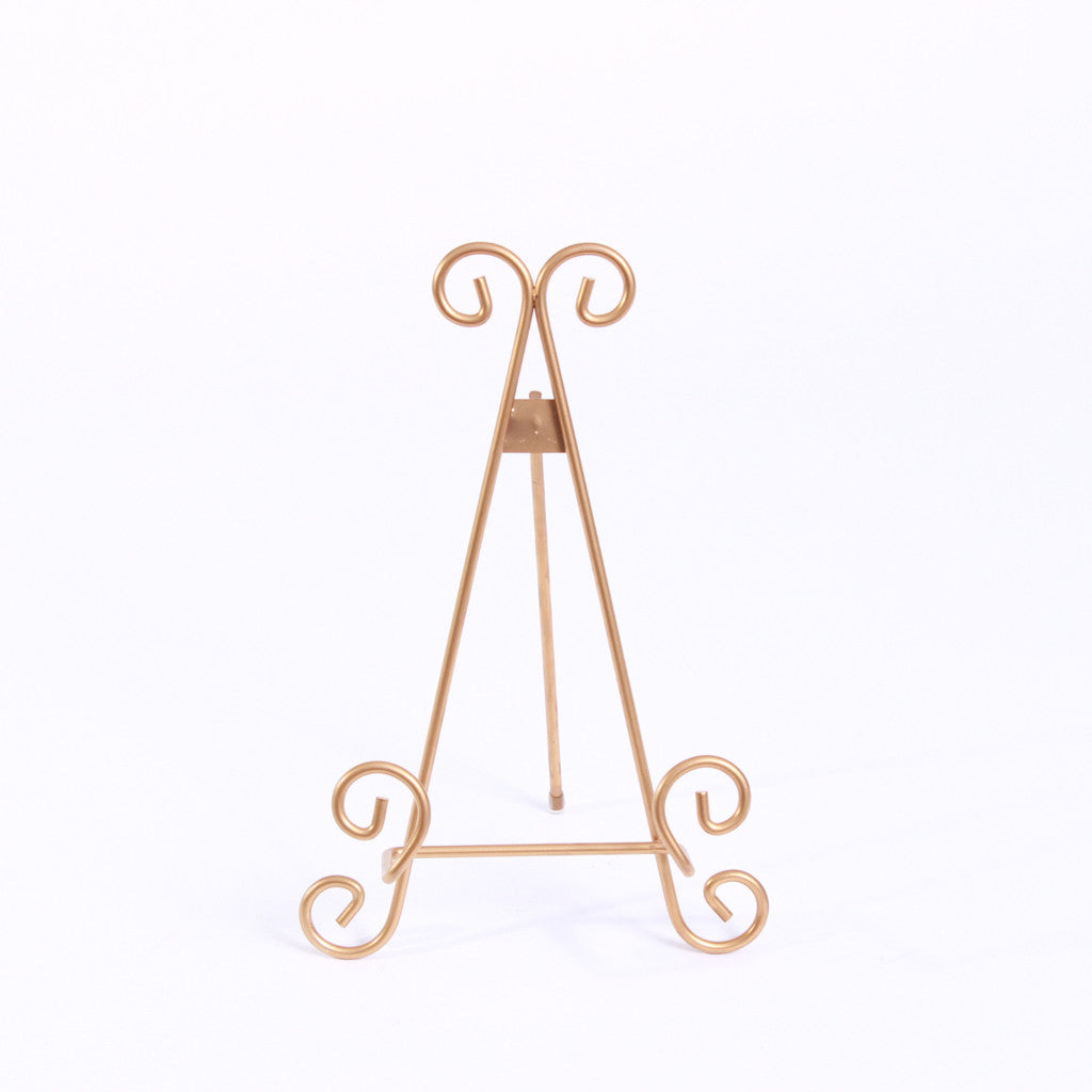 Easel - Tabletop Gold Small Triangle
