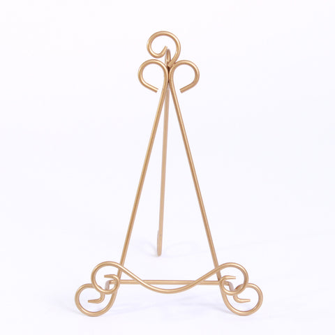 Easel - Tabletop Gold Large Triangle