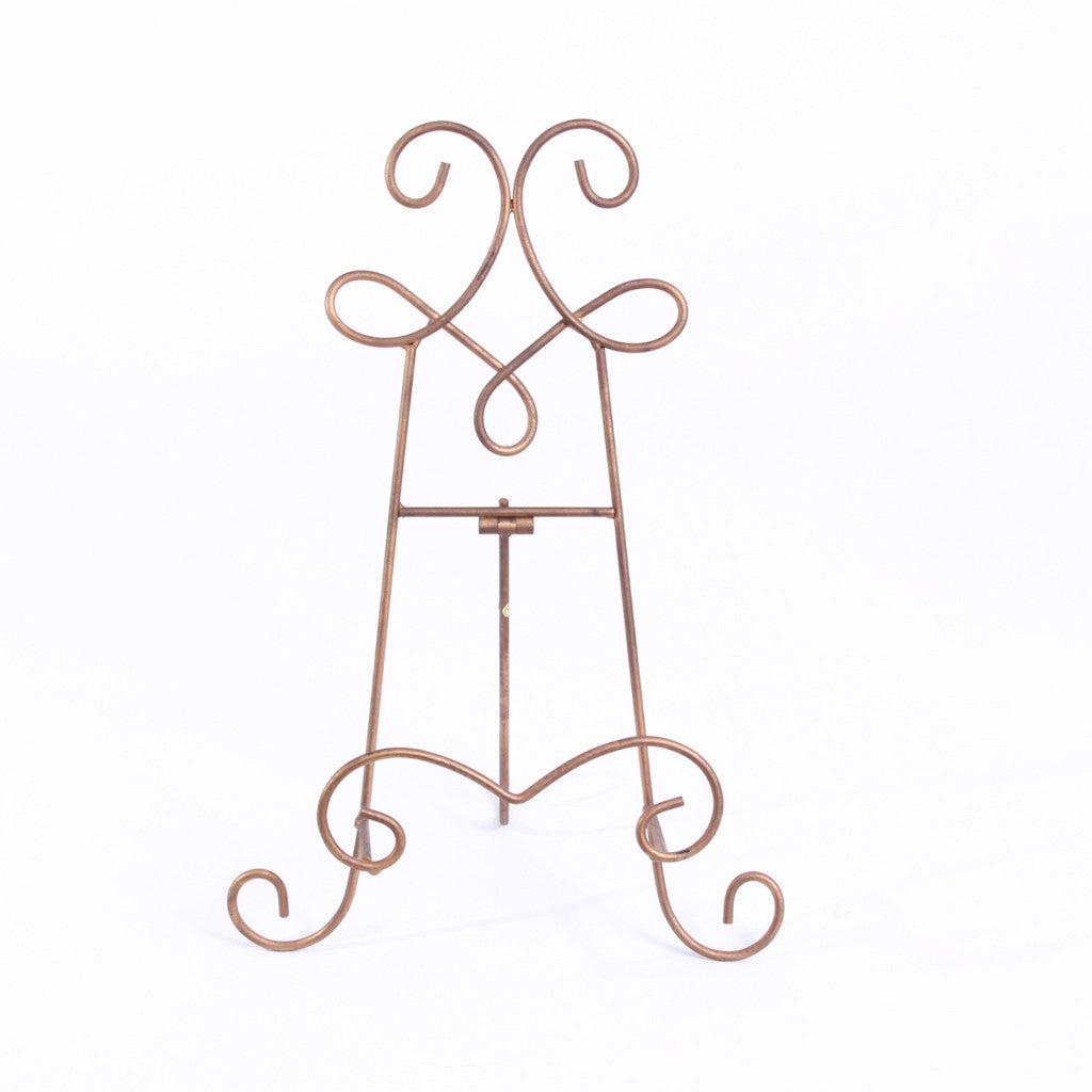 Easel - Gold Flourish Tabletop