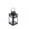 Brushed Metal Lantern Small 11