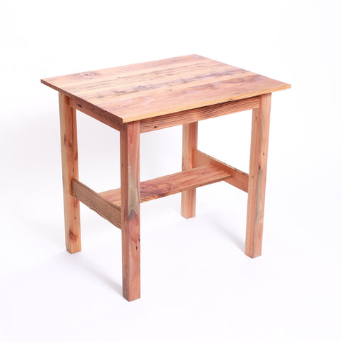 End Table- Natural Wood