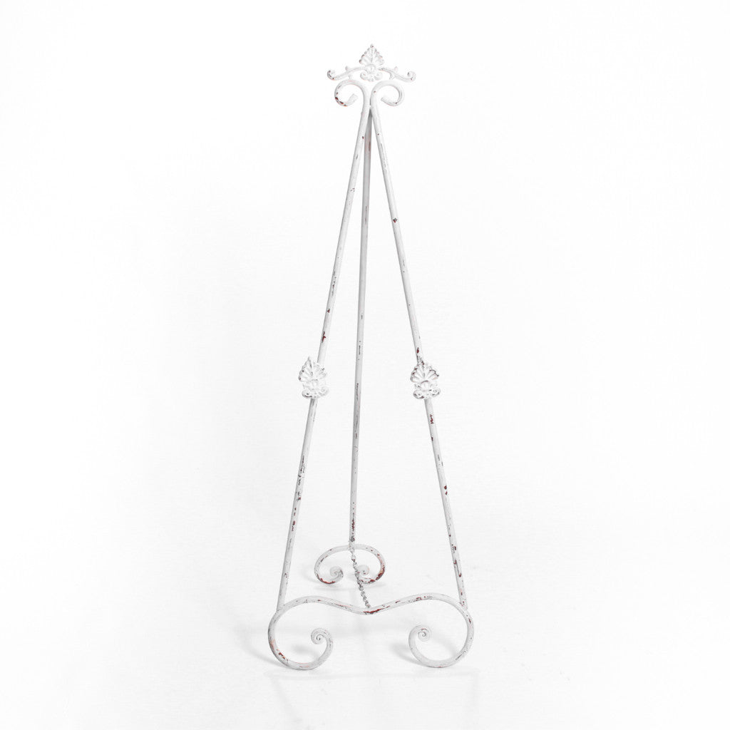 Easel - White Standing Decorative