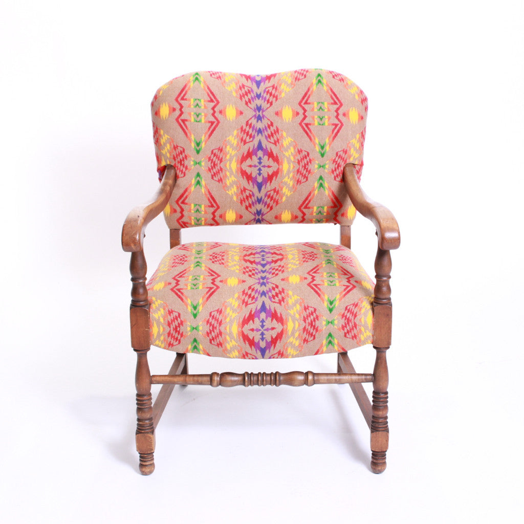 Wooden arm chair - Pendleton Wooden Arm Chair