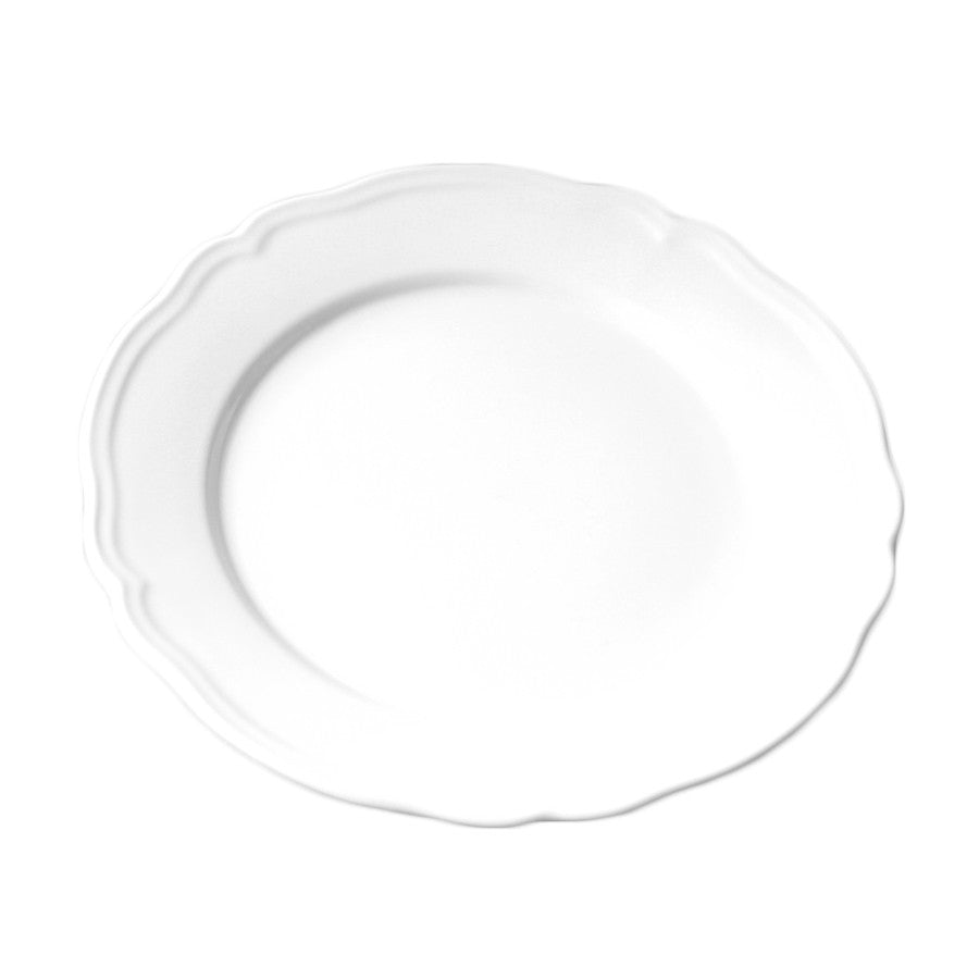 Scalloped Dinner Plate - WHITE 11