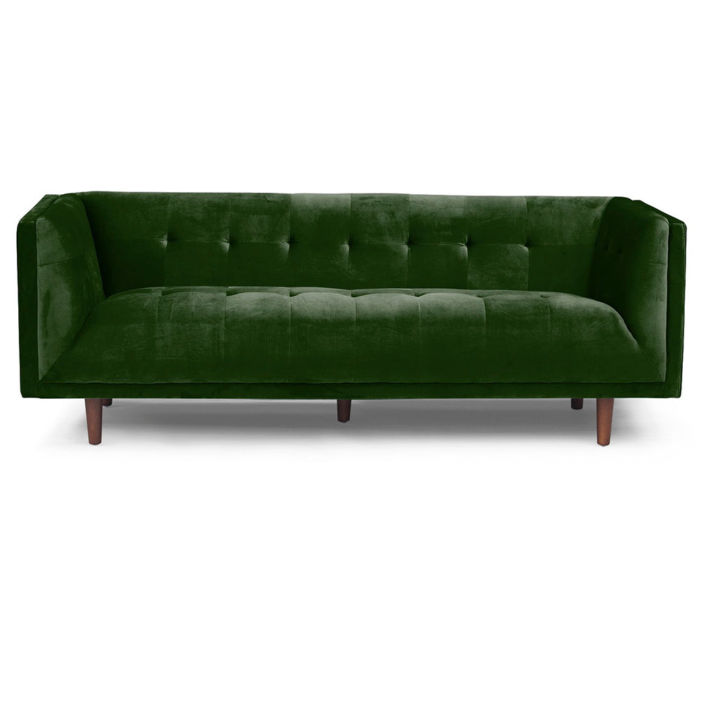 Jade Tufted Velvet Sofa