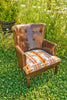 Pendleton Brown Leather Chair