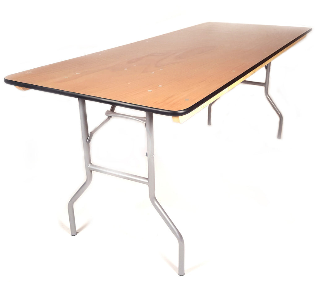 8ft Rectangle Banquet Table