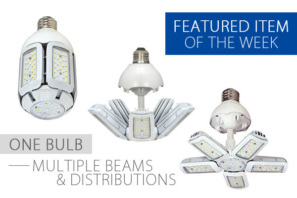 Multi-Beam LED Replacement Light Bulb