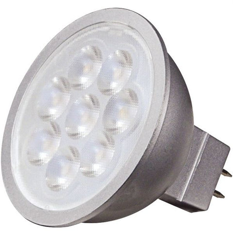 6.5W 12V MR16 LED Bulb, 90CRI - Pack of 6