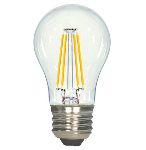 4.5W 120V A15 LED Filament Bulb - Pack of 6