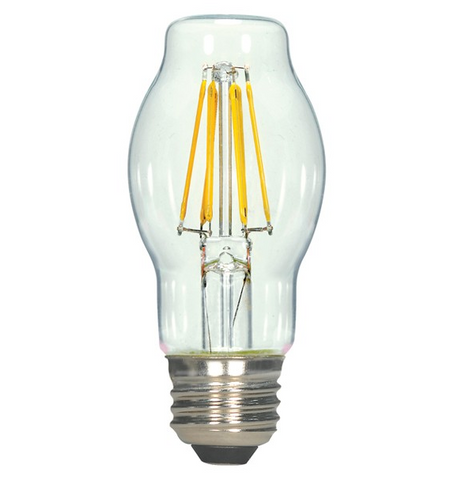 4.5W 120V BT15 LED Filament Bulb - Pack of 6