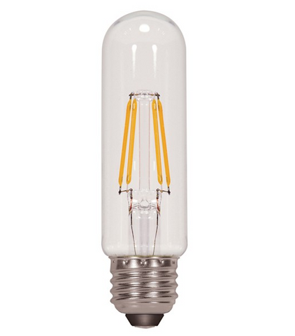 4.5W 120V T10 LED Filament Bulb - Pack of 6
