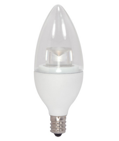 4.5W 230V B11 LED Bulb, Non-Dimmable, E12 base - Pack of 6