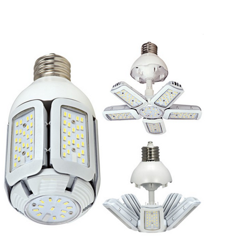 60W LED HID Replacement - Mogul Extended base, 100-277V