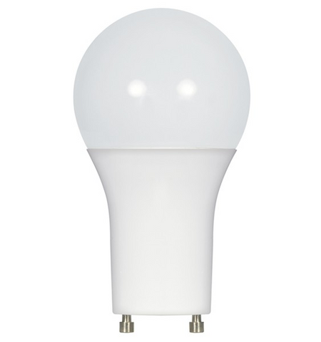 9.5W 120V A19 LED Bulb, GU24 base - Pack of 6