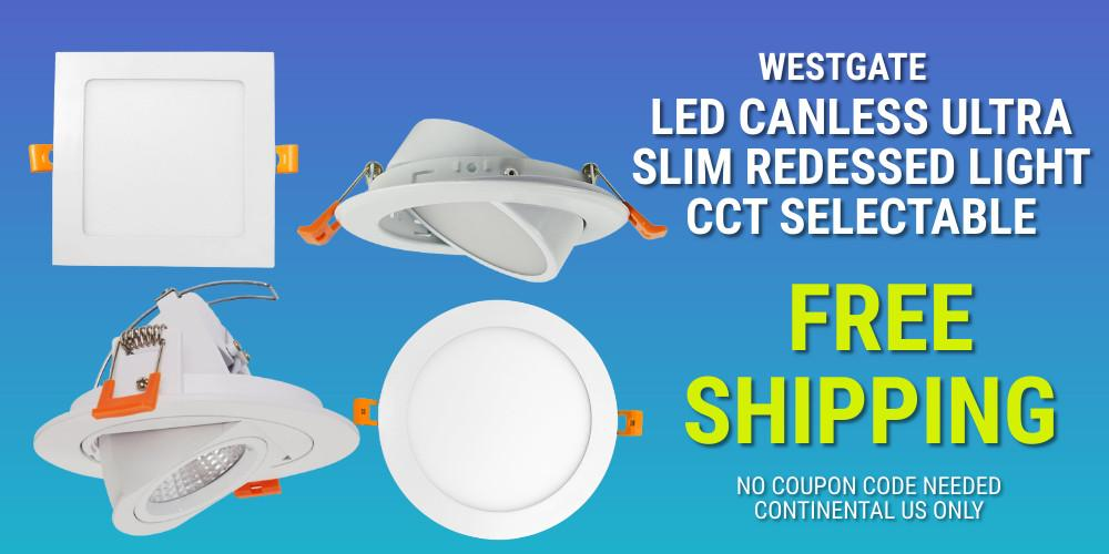 LED Slope Recessed Downlights
