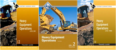 NCCER Heavy Equipment Operations Bundle 2nd Edition