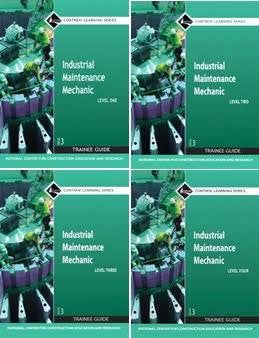 NCCER INDUSTRIAL MAINTENANCE MECHANIC BUNDLE