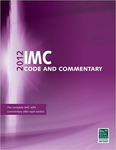 2012 IMC Code and Commentary
