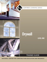 Drywall Level 1 Trainee Guide, Paperback