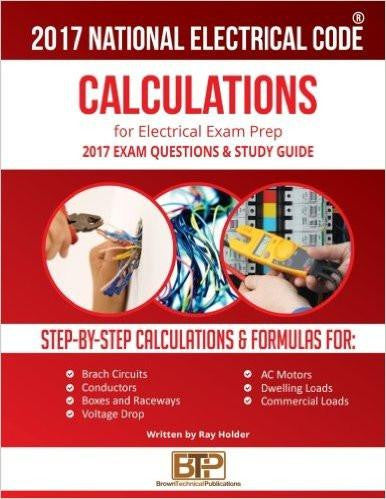 2017 PRACTICAL CALCULATIONS FOR ELECTRICIANS PAPERBACK