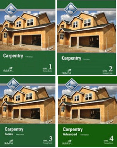 NCCER CARPENTRY BUNDLE 5th Edition