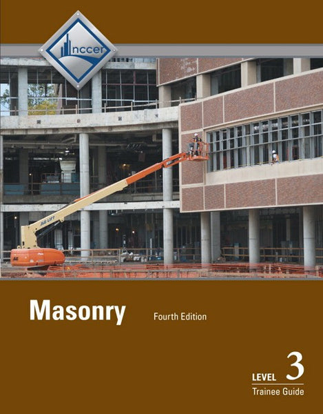 Masonry Level 3 Trainee Guide, 4th Edition