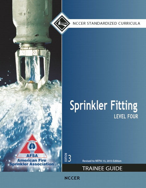 NCCER Sprinkler Fitting Level 4 Trainee Guide, 3rd Edition