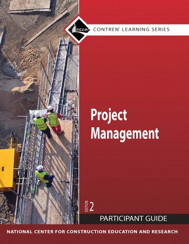 NCCER Project Management Participant Guide