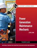 NCCER Power Generation Maintenance Mechanic Level 1