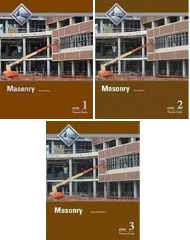 NCCER MASONRY BUNDLE 4th EDITION
