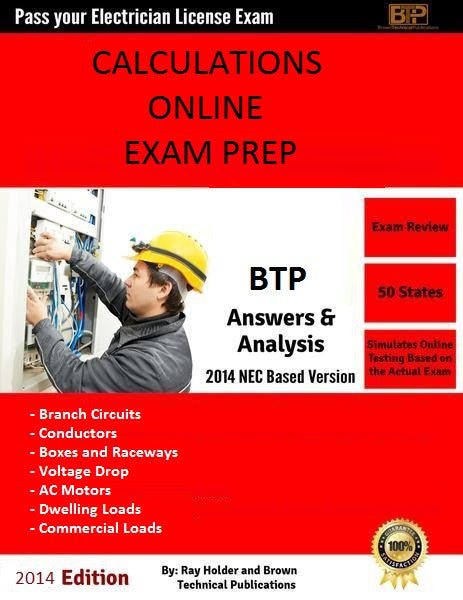 ONLINE 2014 CALCULATIONS EXAM PREP AND STUDY GUIDE