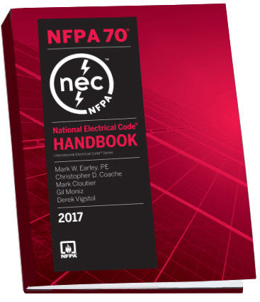 2017 NFPA 70: National Electrical Code (NEC) Handbook