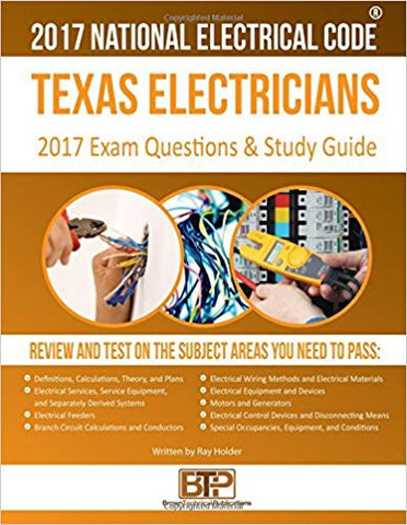 Texas Electricians Practice Exams and Study Guide 2017