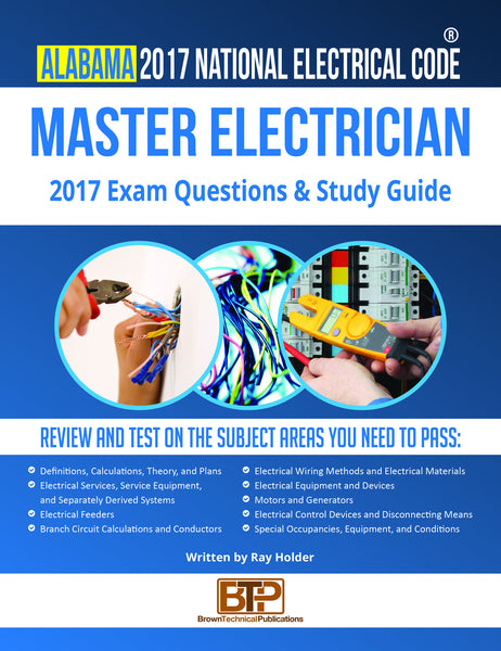 Alabama 2017 Master Electrician Study Guide