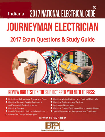 Indiana 2017 Journeyman Electrician Study Guide
