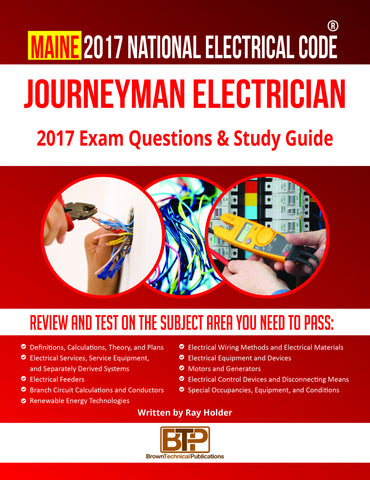 Maine 2017 Journeyman Electrician Study Guide
