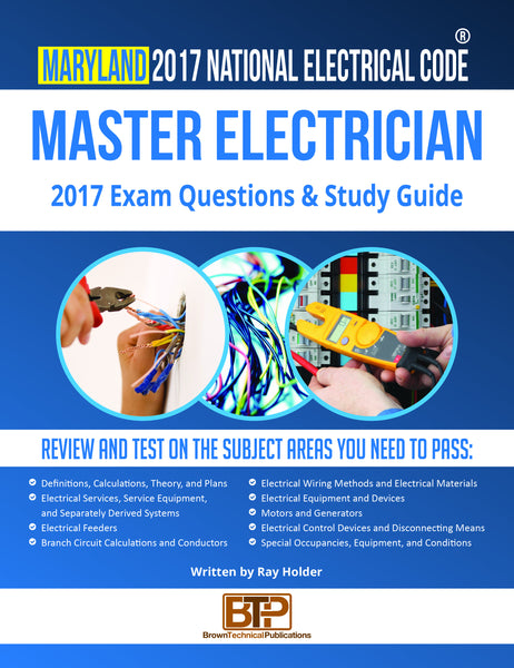 Maryland 2017 Master Electrician Study Guide
