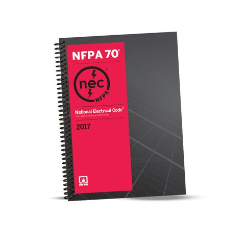 NFPA 70: National Electrical Code (NEC) Spiralbound, 2017 Edition