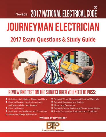 Nevada 2017 Journeyman Electrician Study Guide