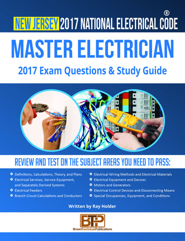 New Jersey 2017 Master Electrician Study Guide