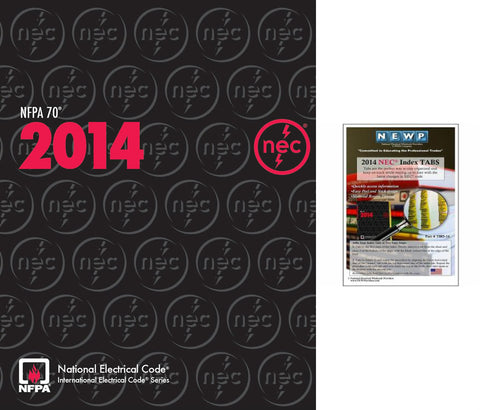 NFPA 70: National Electrical Code (NEC) Softbound, 2014 Edition with Tabs