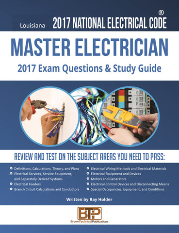 Louisiana 2017 Master Electrician Study Guide