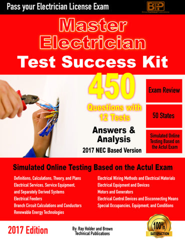 2017 Masters Electrician Exam Questions Tests-Online Version