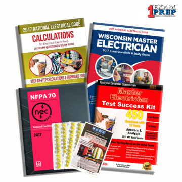 WISCONSIN MASTER ELECTRICIAN EXAM PREP PACKAGE