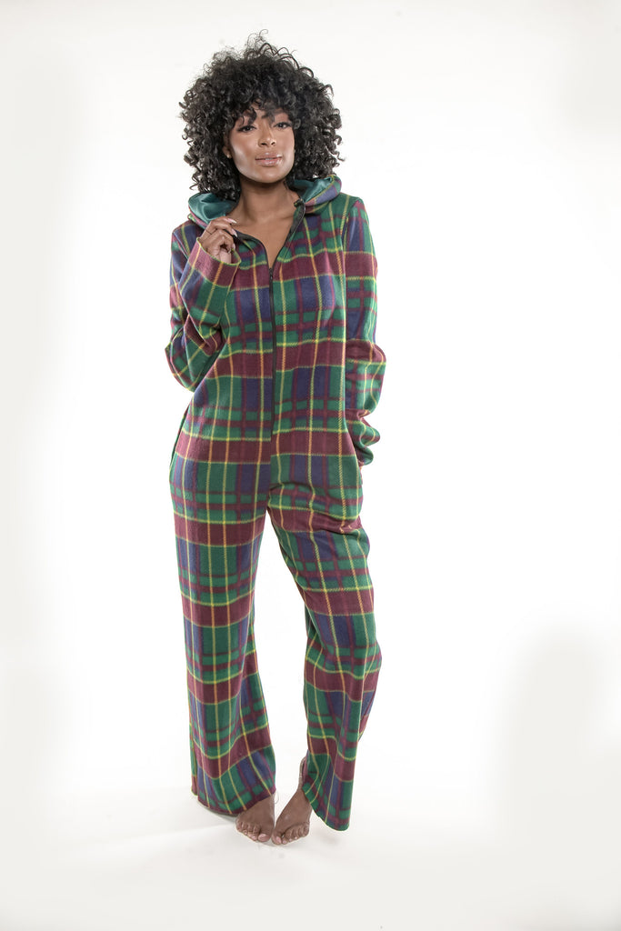 Miss Plaid (Green)