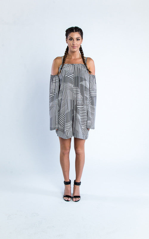 abstract jumper dress - Miss Jumpin