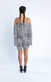 abstract print jumper-back - Miss Jumpin