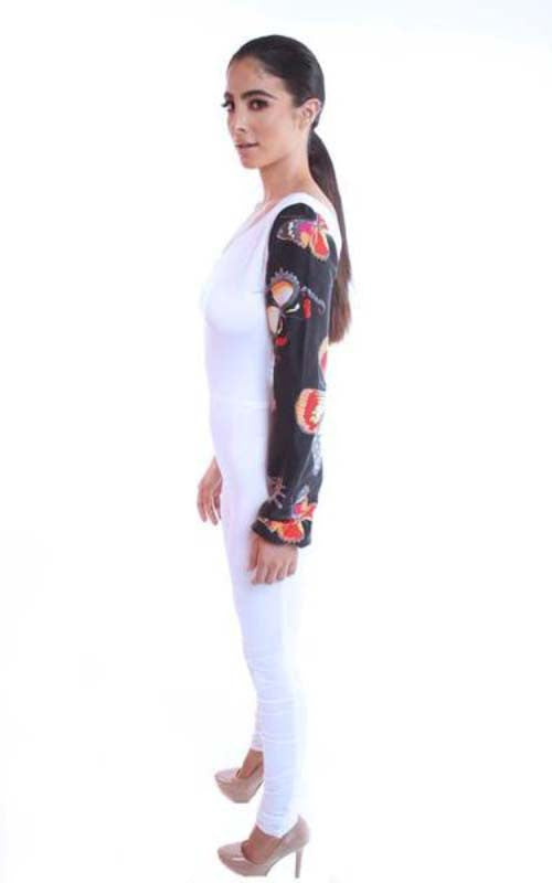 butterfly print jumpsuit - Miss Jumpin