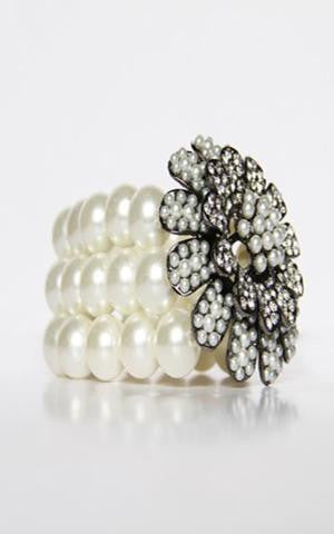 Miss Pearl Diamond Bracelet
